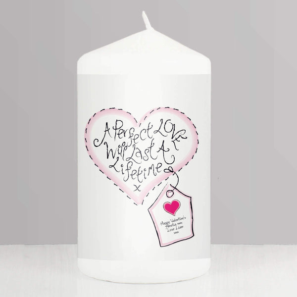 Personalised Perfect Love Candle