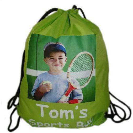 Personalised Photo Gym Bag Bag Always Personal