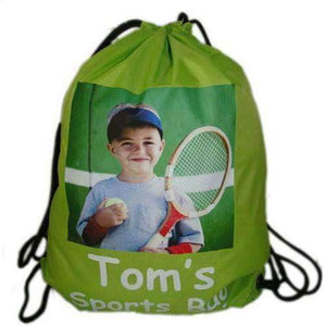 Personalised Photo Gym Bag