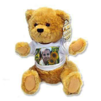 Personalised Photo Teddy Bear
