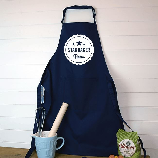 Personalised Printed Star Baker Apron - Childrens Sizes Apron Always Personal