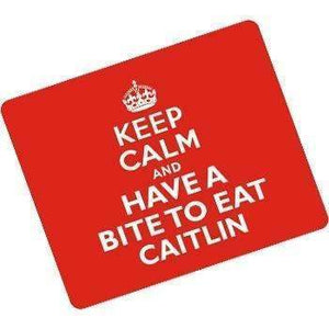 Personalised Rectangle Keep Calm Placemat