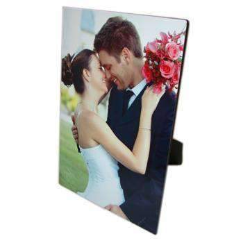 Personalised Rectangle Photo Easel