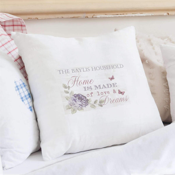 Personalised Secret Garden Cushion Cover
