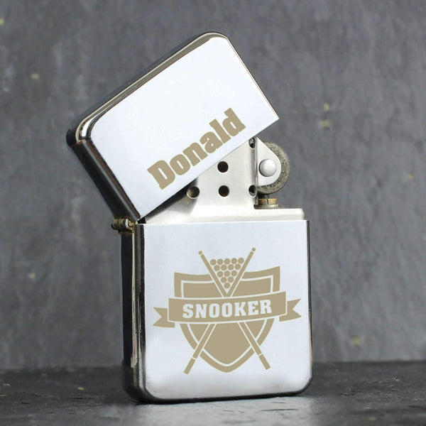 Personalised Snooker Lighter