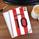 Personalised Southampton A5 Notebook