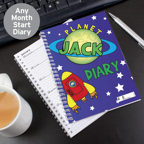 Personalised Space - A5 Diary