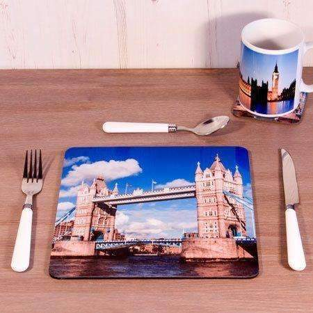 Personalised Square Photo Placemat