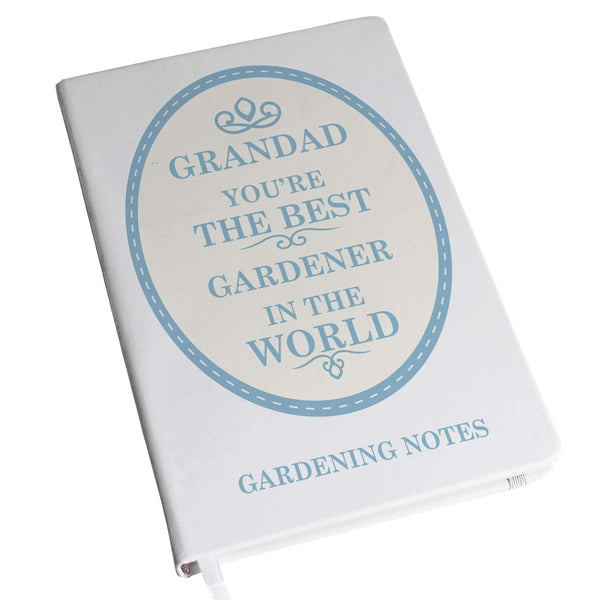Personalised The Best in the World Hardback A5 Notebook