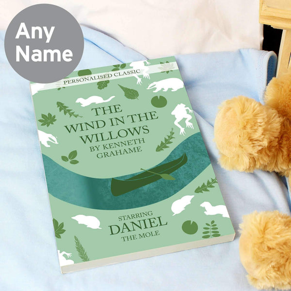 Personalised The Wind in the Willows Novel - 1 Character