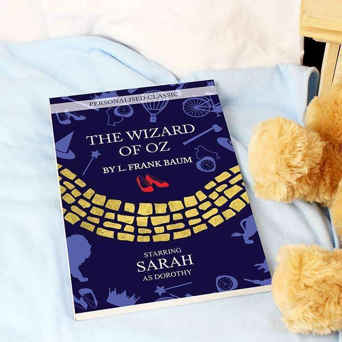 Personalised The Wizard of OZ Novel - 1 Character – Personalised Gifts and Photo Gifts by Always Personal