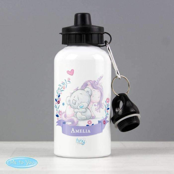 Personalised Tiny Tatty Teddy Unicorn Water Bottle