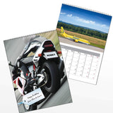Personalised Vehicles A4 Wall Calendar
