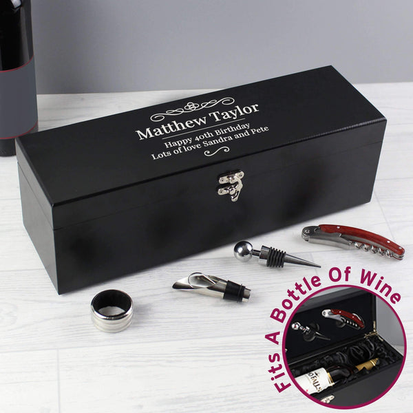 Personalised Wine Gift Set