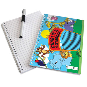 Personalised Zoo - A5 Notebook