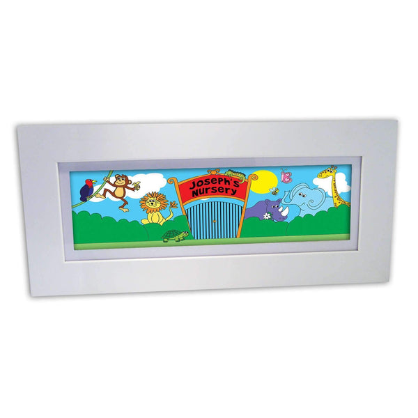 Personalised Zoo Name Frame
