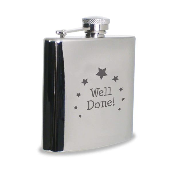 Well Done Hip Flask