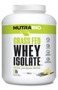 Grass Fed Whey Isolate (5lb) - NutraBio
