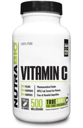Vitamin C (500mg) - NutraBio