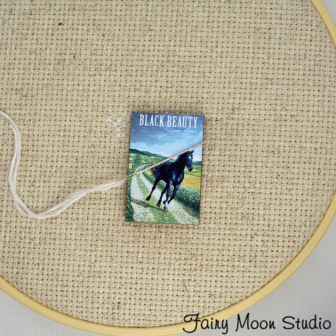 Black Beauty Book Needle Minder