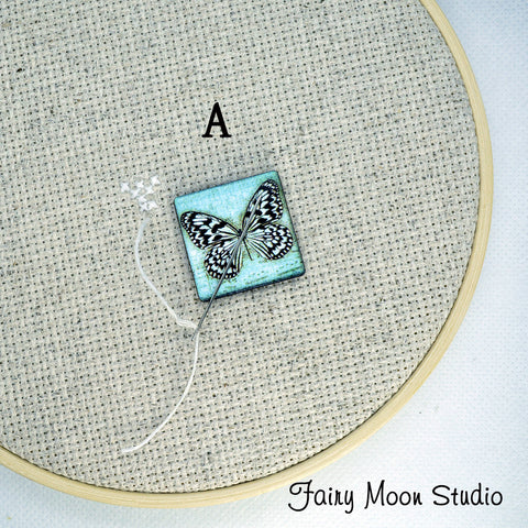 Butterfly Squares Needle Minder