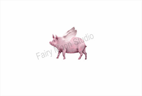 Flying Pig Needle Minder