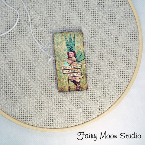 "Fairy Child ""I Was Born To Do This"" Needle Minder"