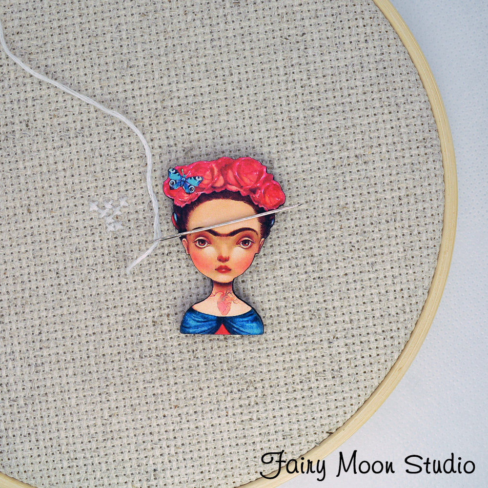 Frida Kahlo Head Needle Minder
