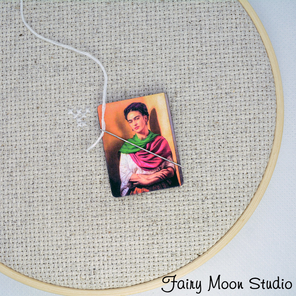 Frida Kahlo Portrait Needle Minder