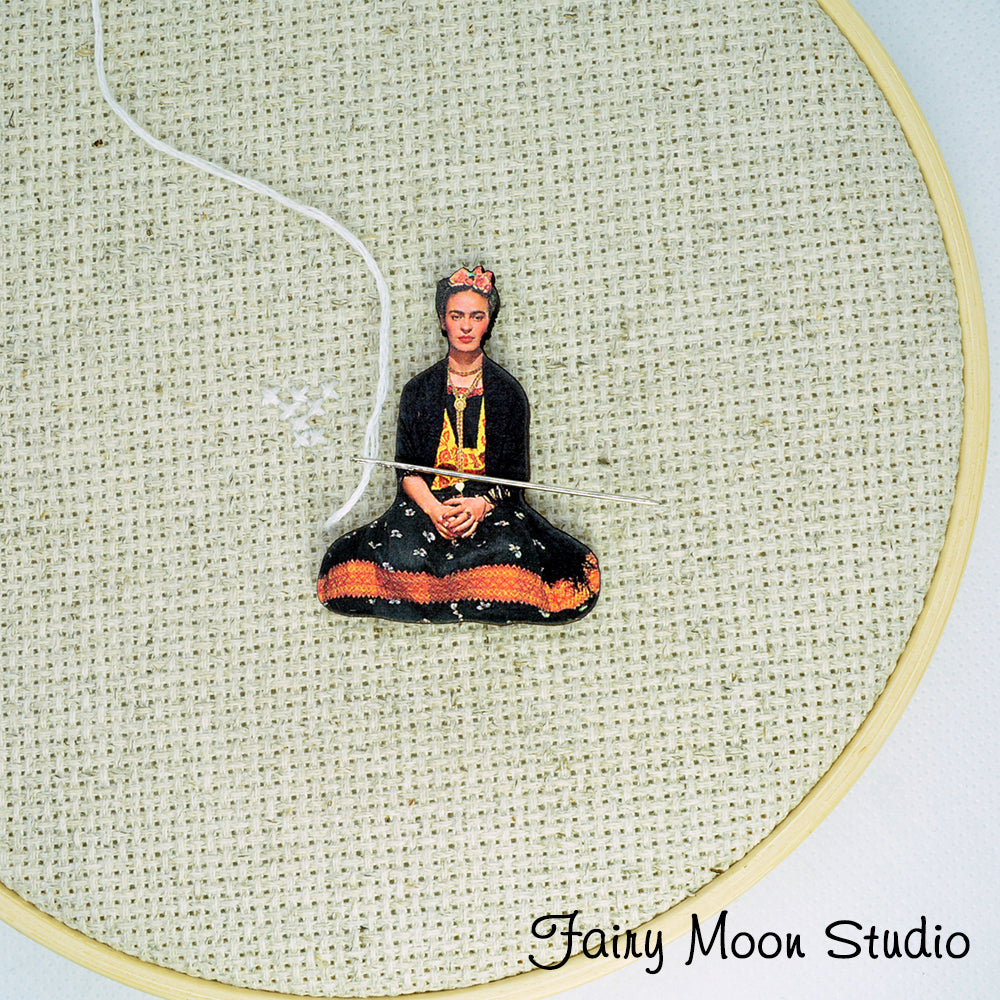 Frida Kahlo Sitting Needle Minder