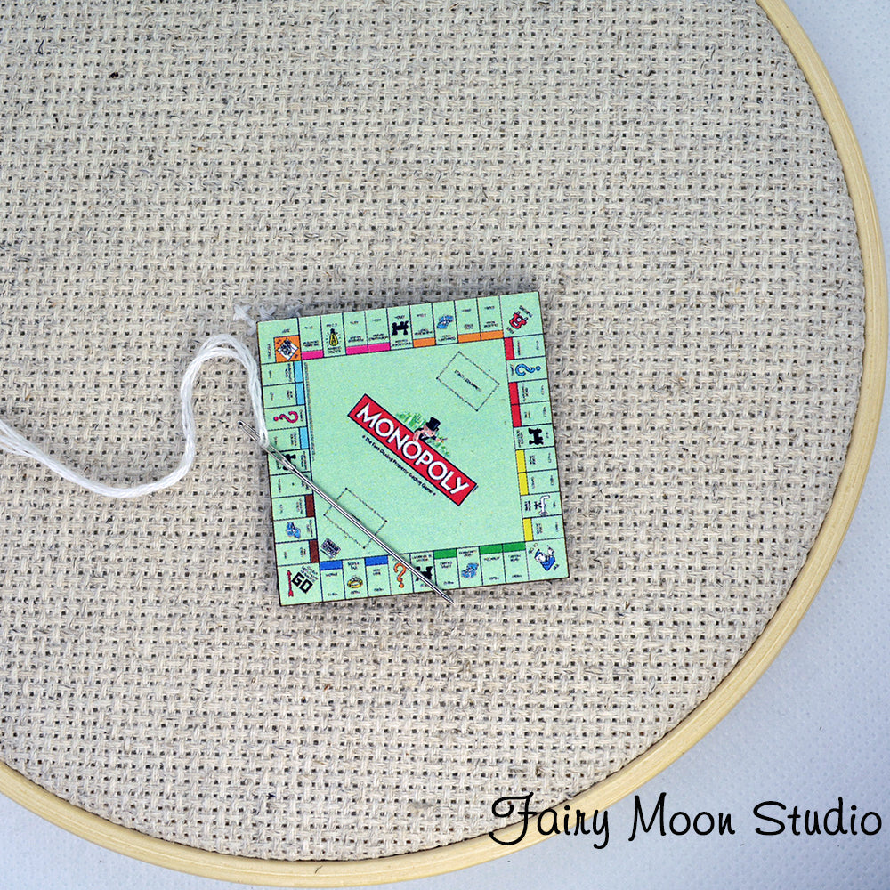 Monopoly Game Board Needle Minder