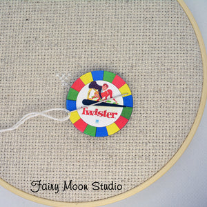 Twister Game Spinner Needle Minder