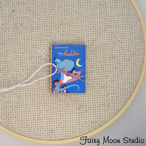 Aladdin Book Needle Minder