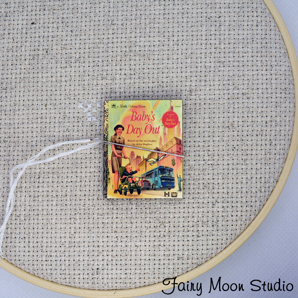 Baby's Day Out Book Needle Minder