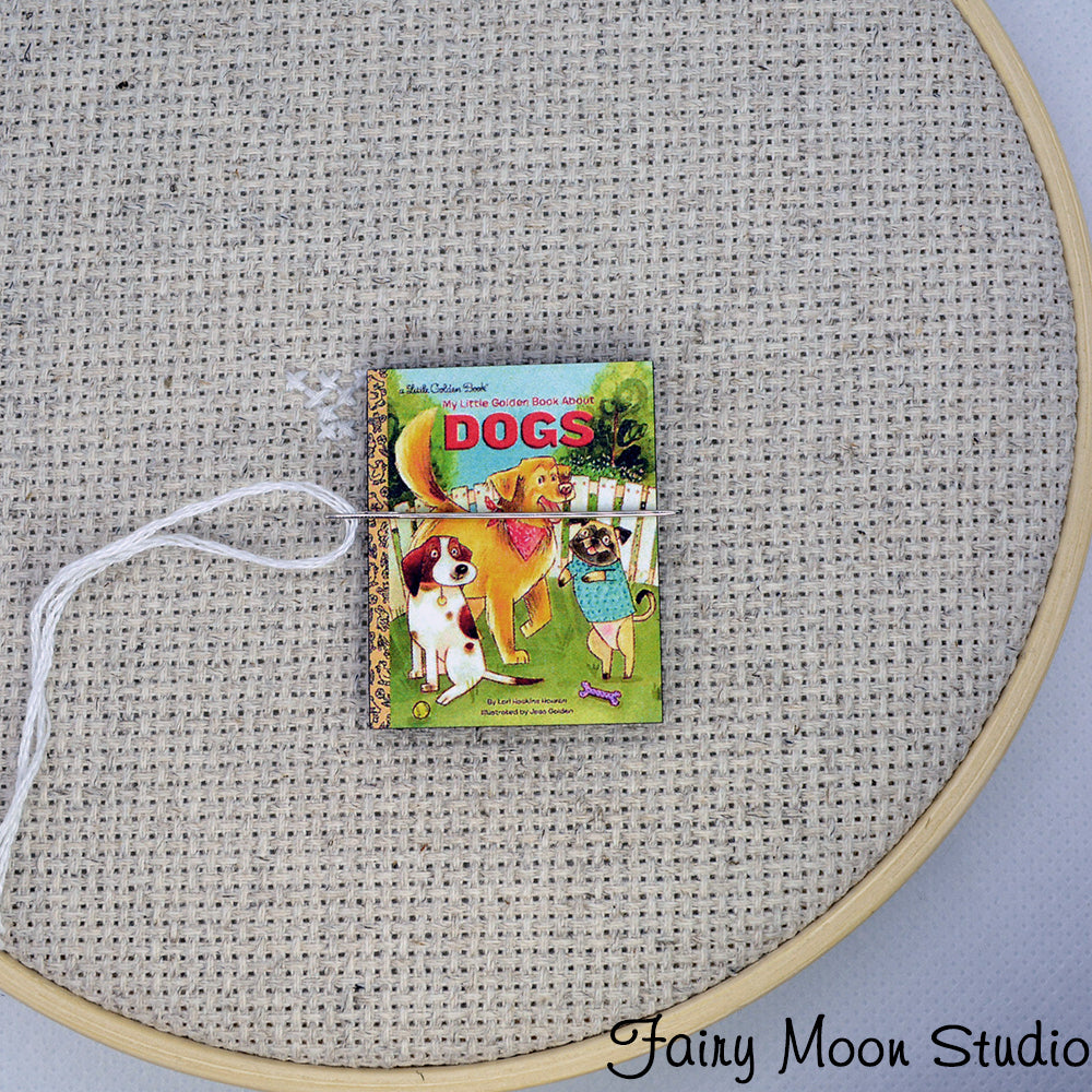 Dogs Book Needle Minder