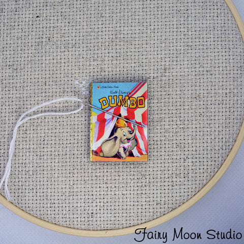 Dumbo Book Needle Minder