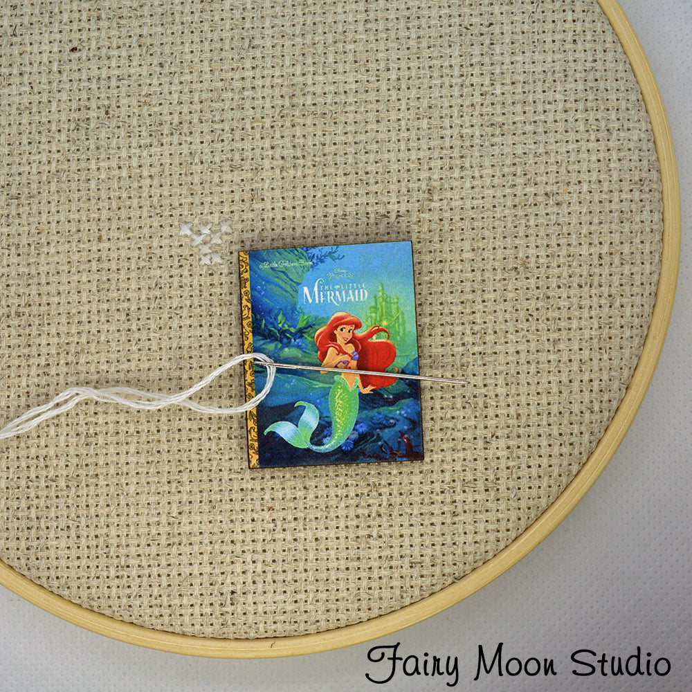 The Little Mermaid Book Needle Minder
