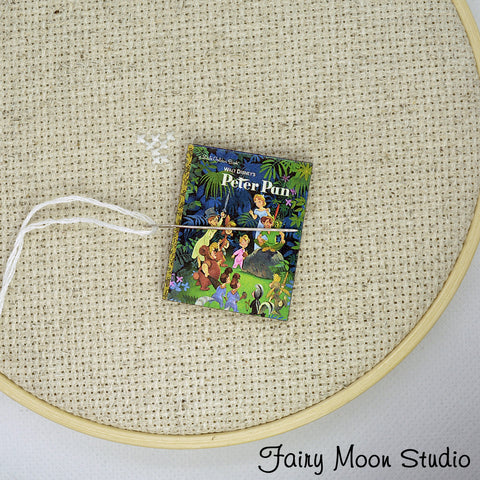Peter Pan Book Needle Minder