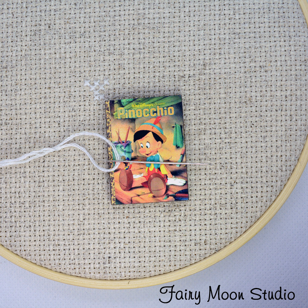 Pinocchio Book Needle Minder