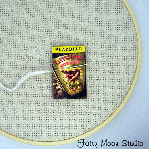 Little Shop of Horrors Playbill  Needle Minder