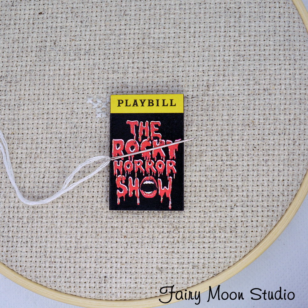The Rocky Horror Show Playbill Needle Minder