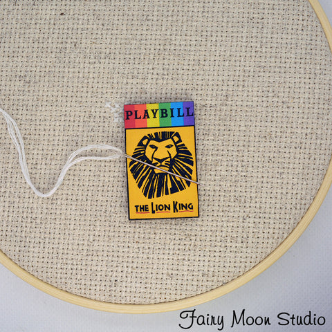 The Lion King Playbill Needle Minder