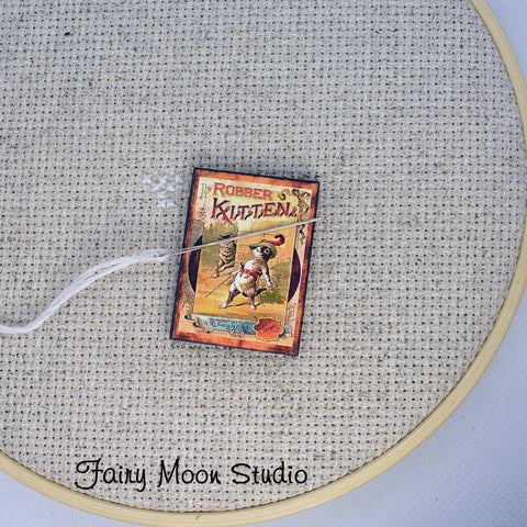 The Robber Kitten Book Needle Minder