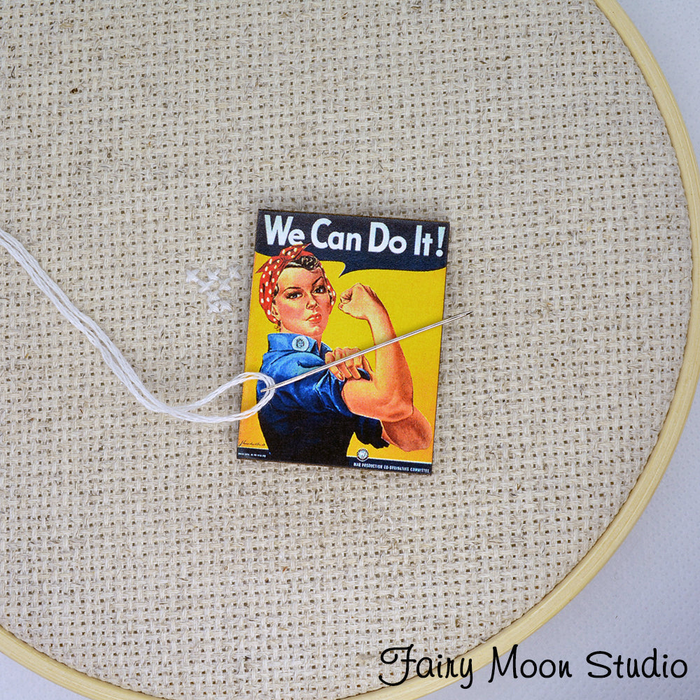 Rosie the Riveter Poster Needle Minder