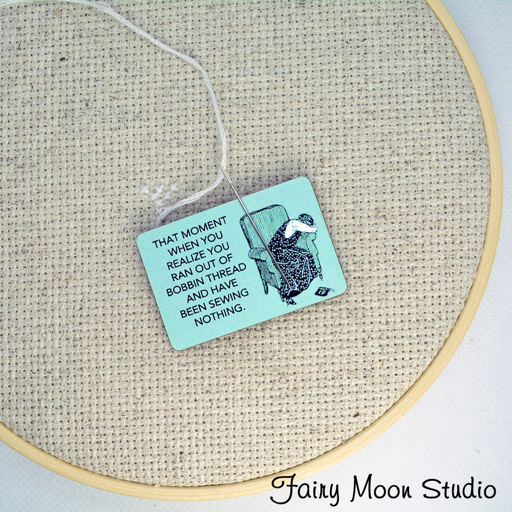 Sewing Quote Needle Minder