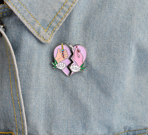 Broche Best Buds