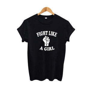 Camiseta Fight Like a Girl