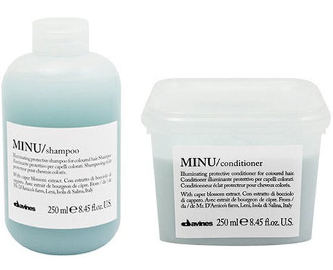 DUO Davines Soin Minu SHAMPOOING + CONDITIONNER