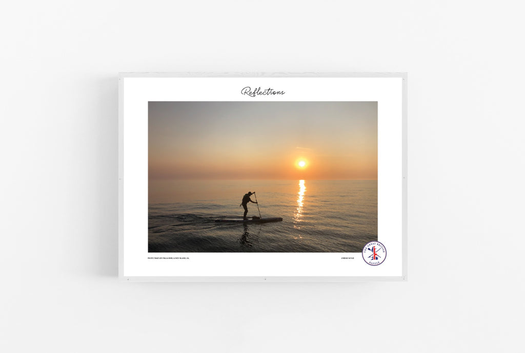 A2 SIGNED & FRAMED LIMITED EDITION PRINT - The Great British Paddle