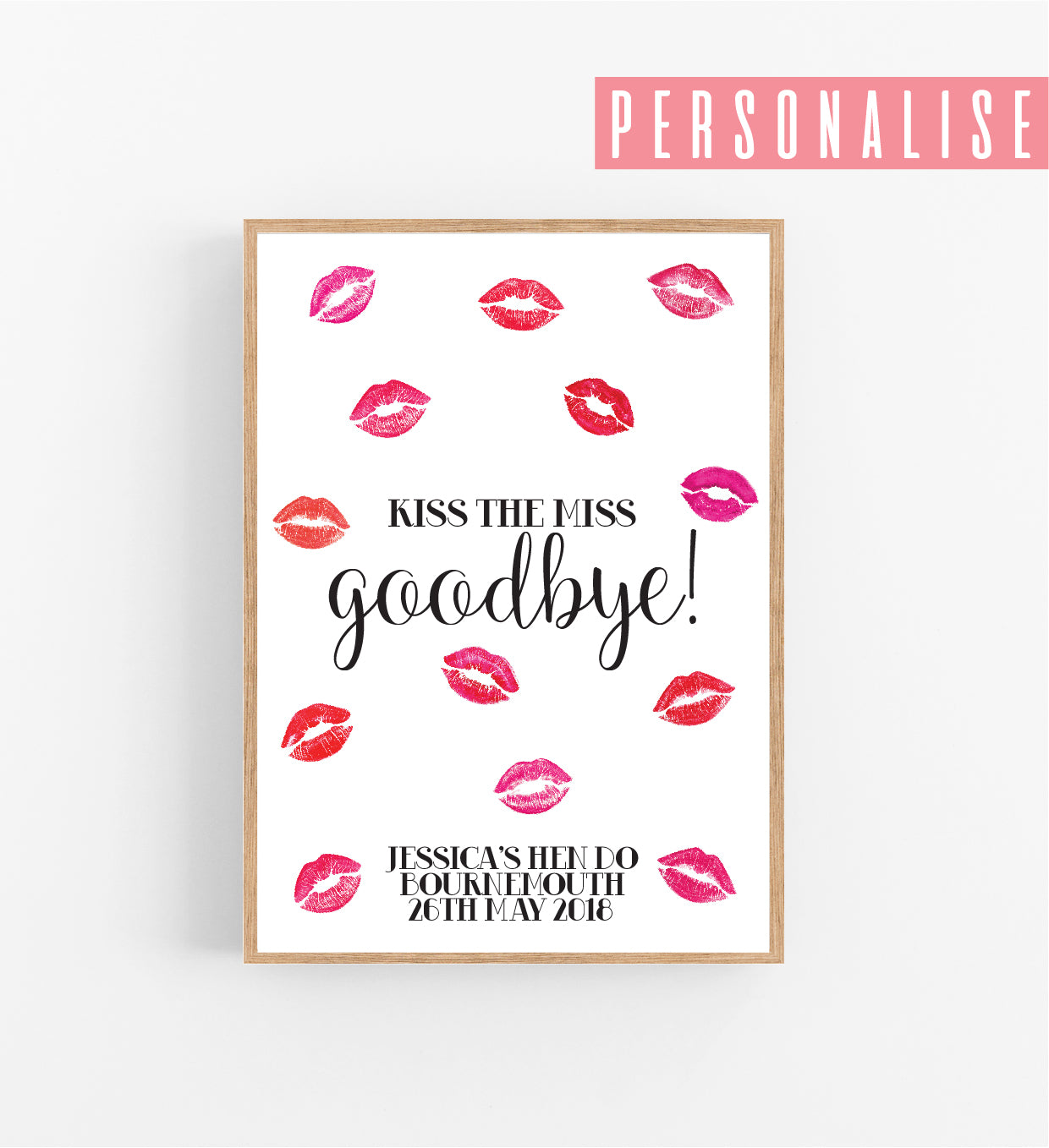 It is a picture of Kiss the Miss Goodbye Printable within he said she said